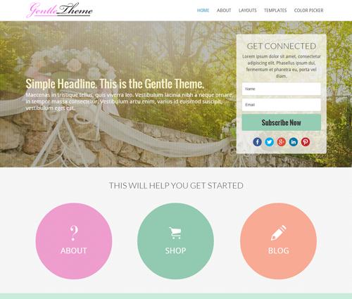 Gentle-Theme-Theme-by-Littlejohns Web Shop