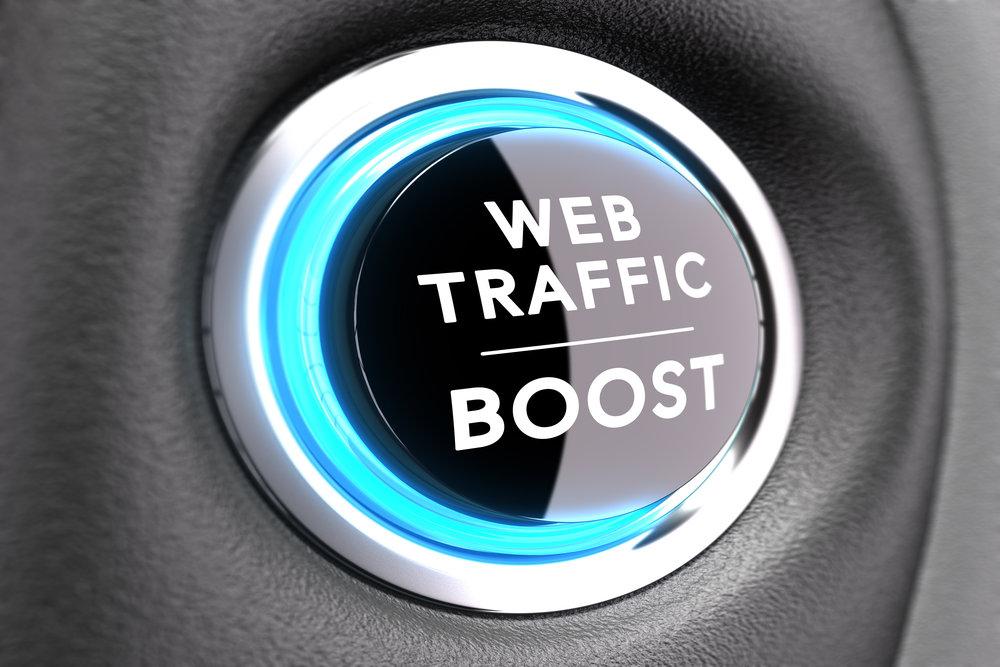 5 Ways to Increase Website Traffic
