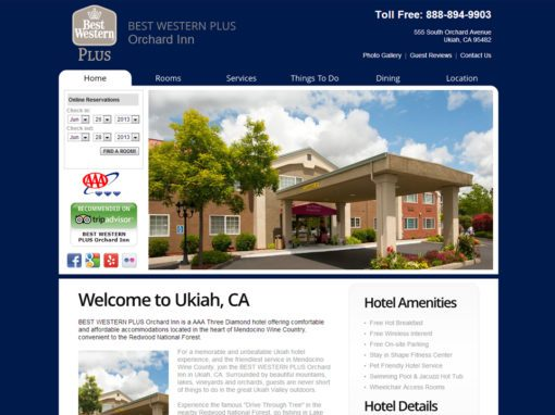 Best Western Website Design