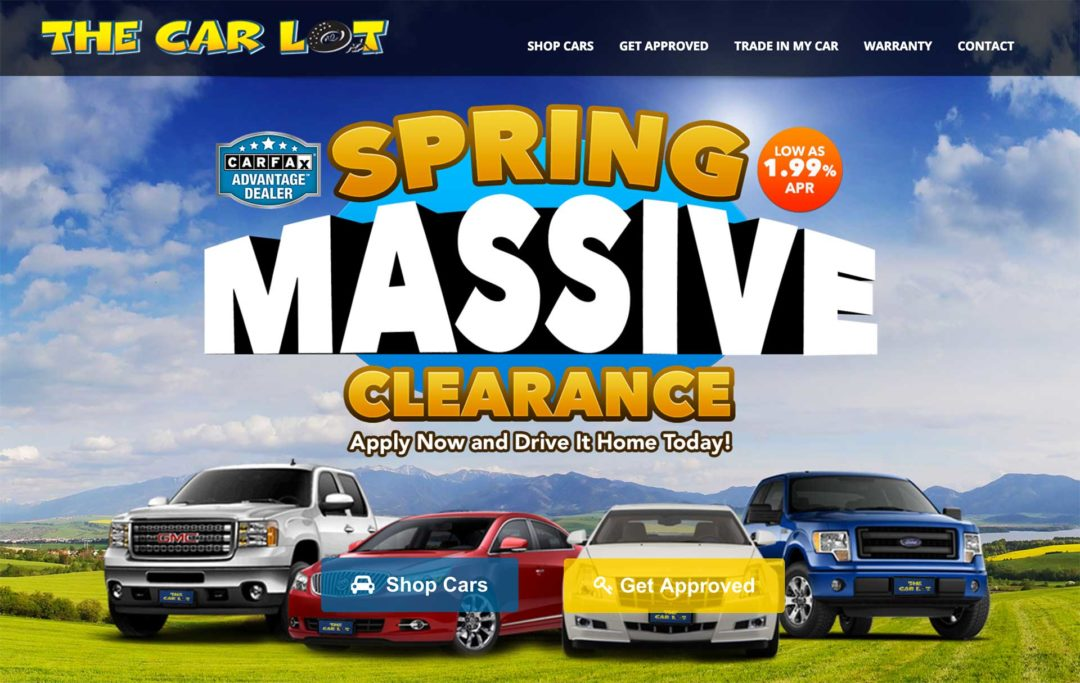 Car Dealership Website Design