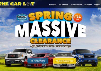 Car Dealership Website Design