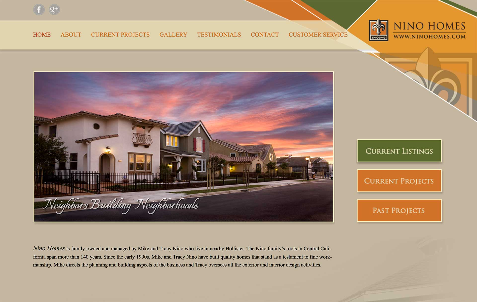 Home builder website design littlejohn 39 s web shop for Home builder website