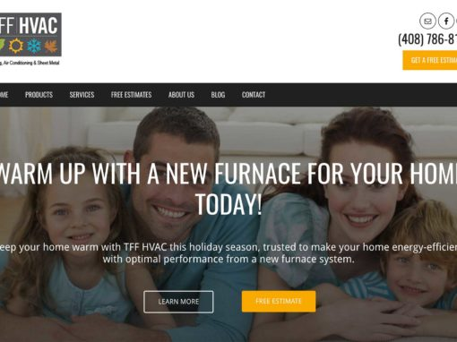 HVAC Web Design