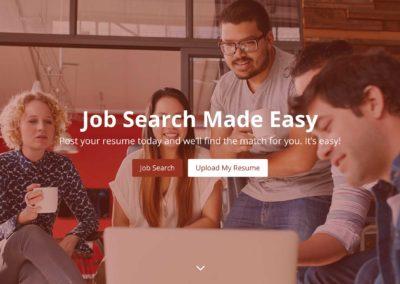 Staffing Agency Website Design
