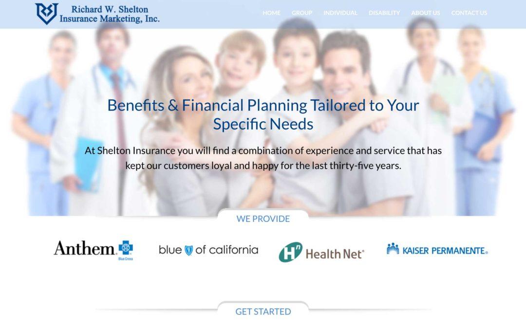 Insurance Company Website Design