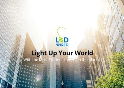 LED Lighting Website Design