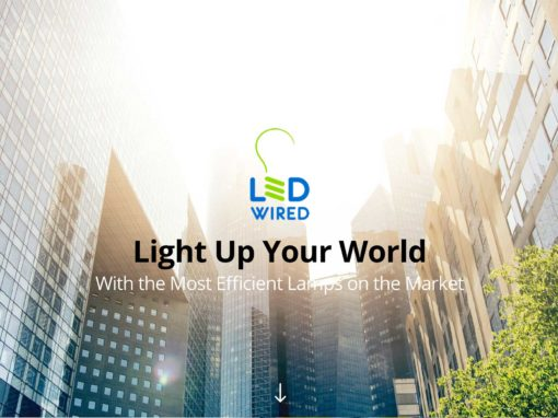 LED Lighting Website Design