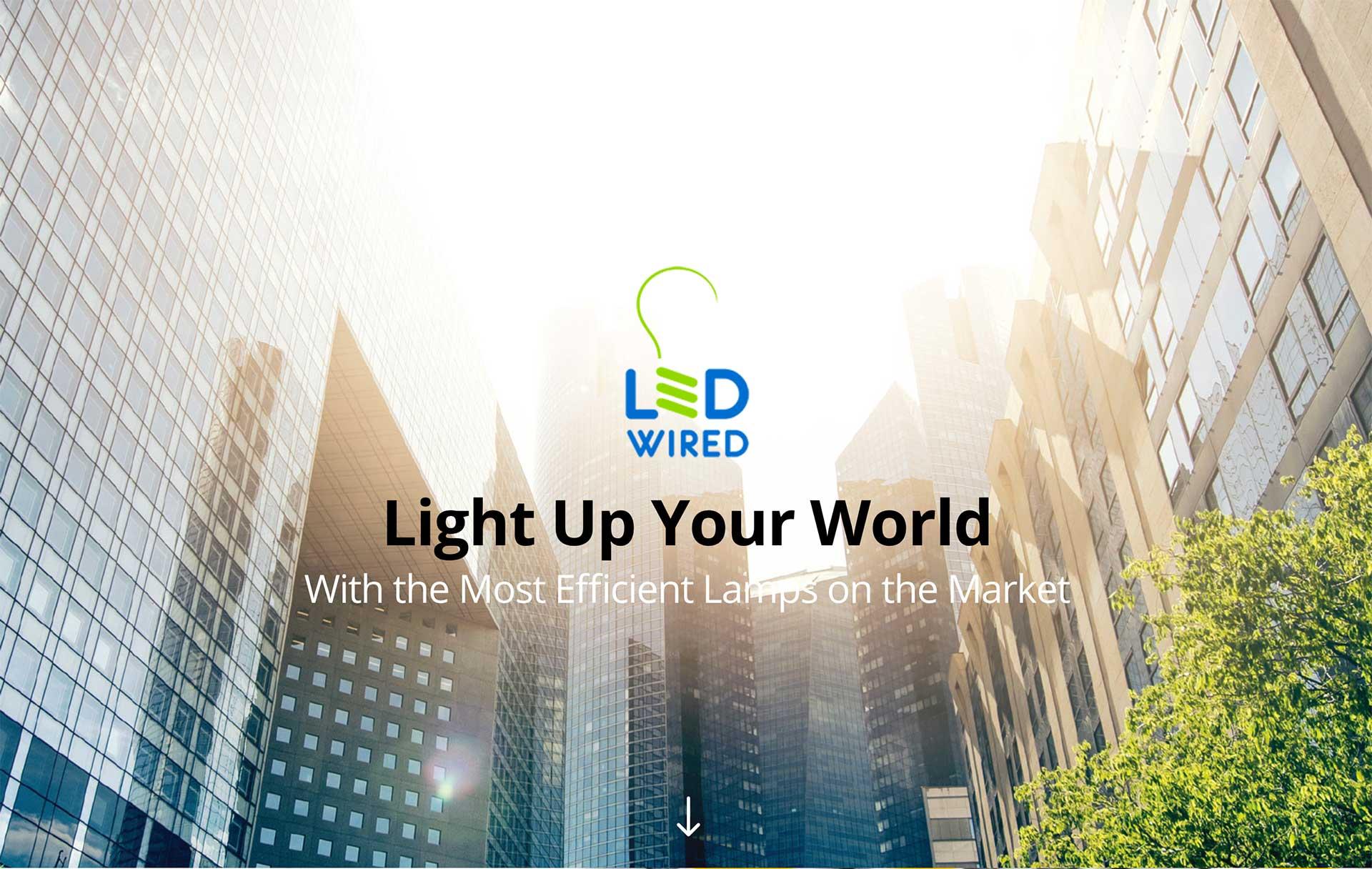 LED Lighting Website Design - Littlejohn\'s Web Shop