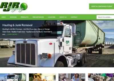 Recycling Company Website Design