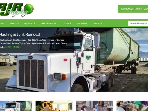 Recycling Company Website Design