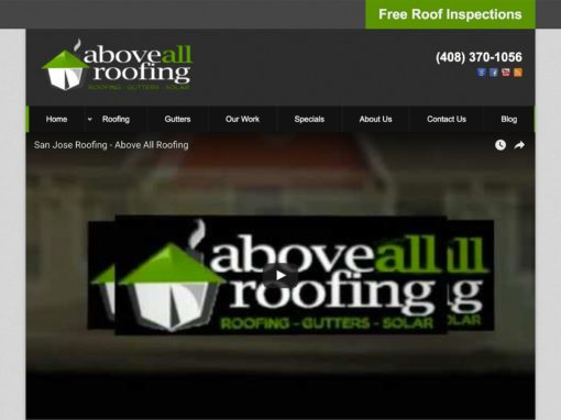 Roofing Company Website Design Littlejohn S Web Shop