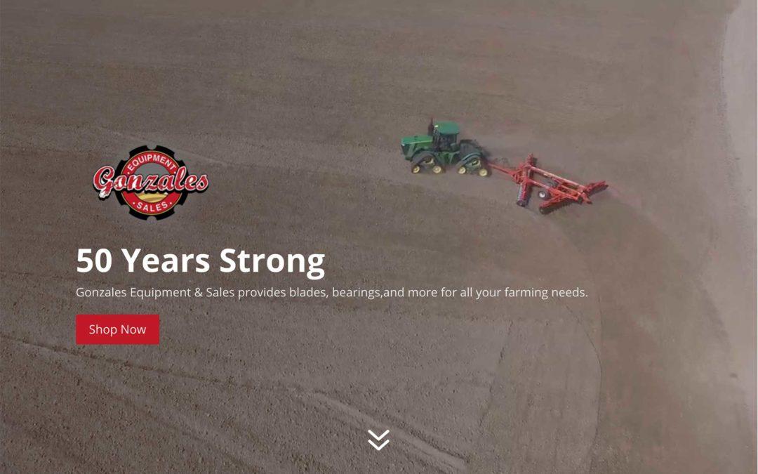 Tractor Equipment Website Design
