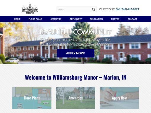 Web Design For Apartment Condos