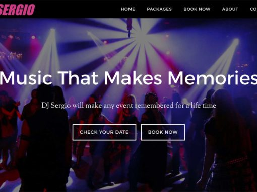 Web Design For DJs