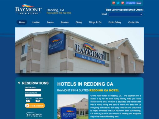 Website Design For Hotels