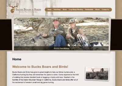 Website Design For Hunting Guides