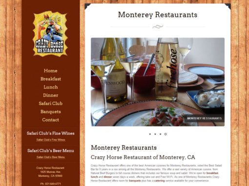 Website Design For Restaurants