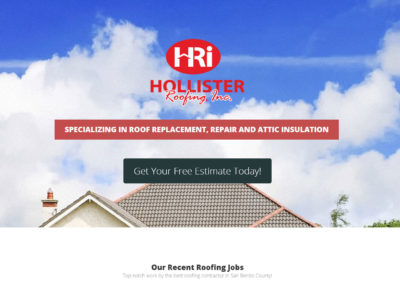 Website Design For Roofing Companies