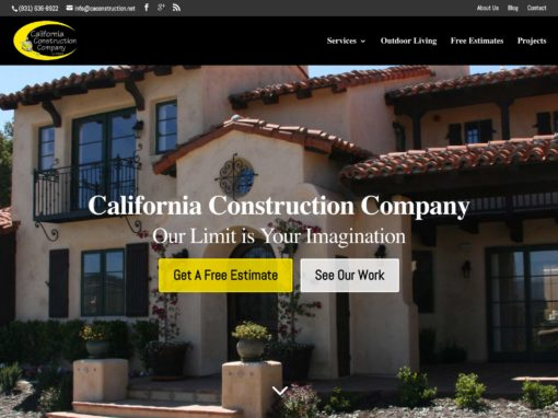 Construction Trade Services Web Design