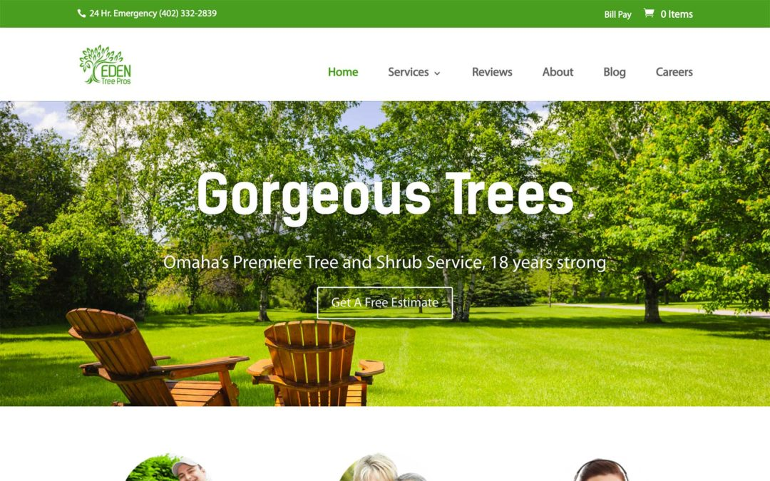 Landscape Business Web Design