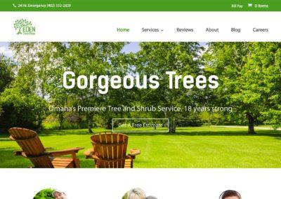Landscape Business Web Design