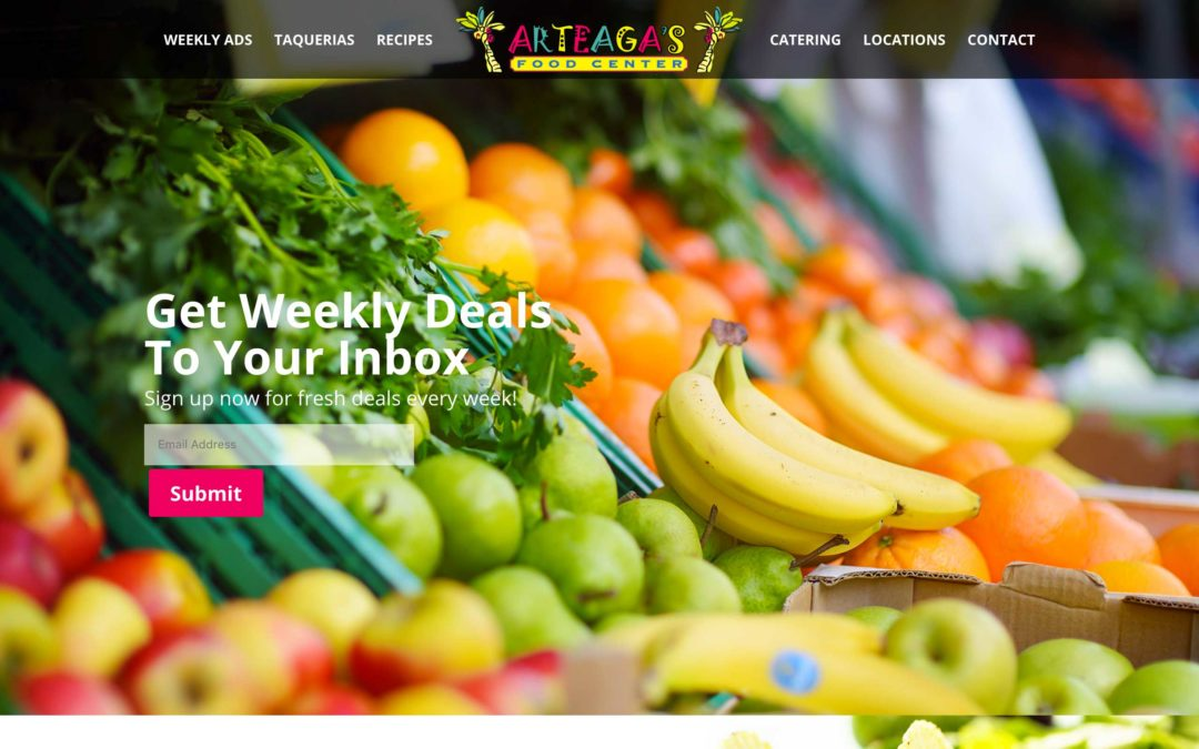 Mexican Grocery Store Website Design
