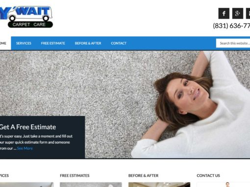 Website Design For Carpet Cleaning Professionals