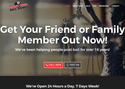 Bail Bonds Website Design
