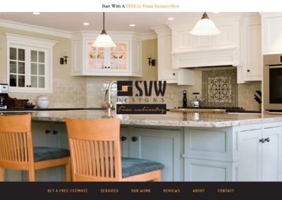 Cabinet Maker Website Design