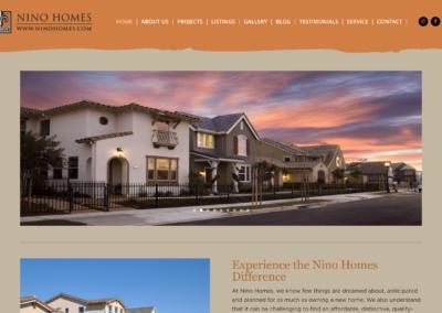 Custom Home Builder Website Design