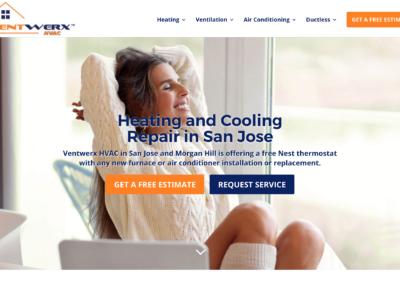 HVAC Website Design