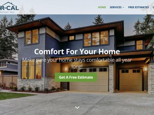 Skilled Trade Services Website Design