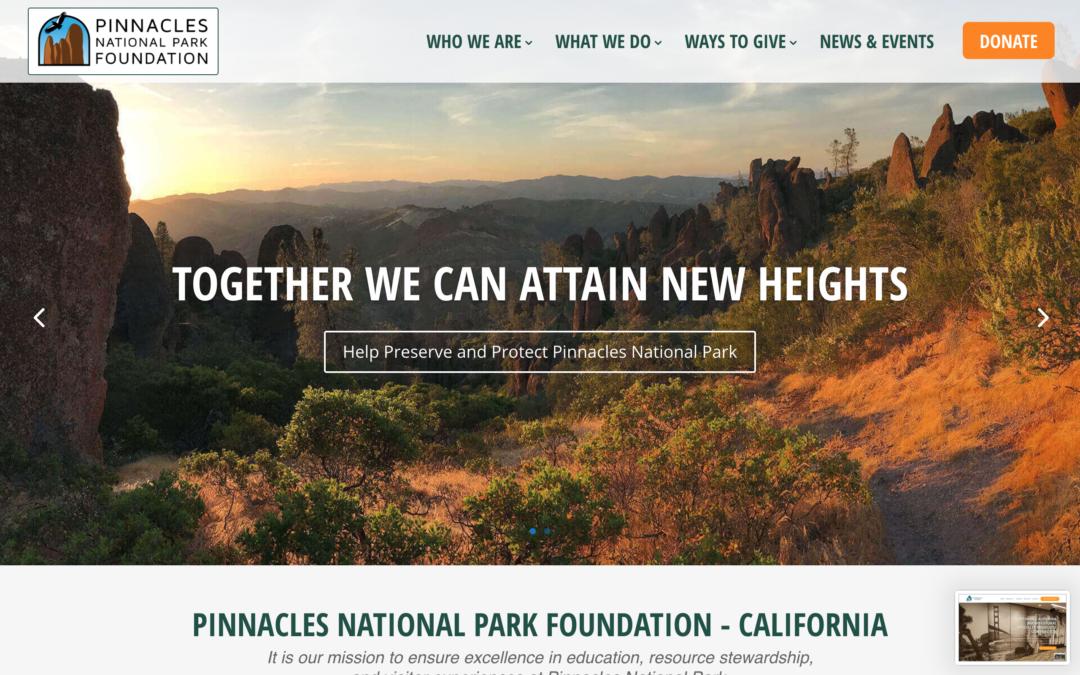 National Park Foundation Website Design