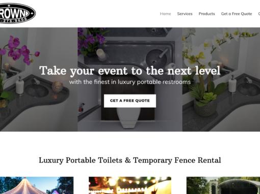 Portable Services Website Design