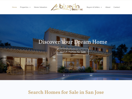 Real Estate Agent Custom Website Design