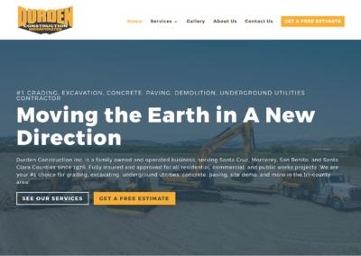 Skilled Trades Construction Website Design